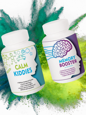 Gfrag® Memory Booster Calm Kiddies Combo