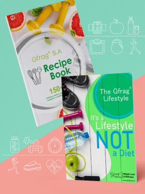 The Gfrag® Lifestyle & Gfrag® S.A Recipe Book Combo